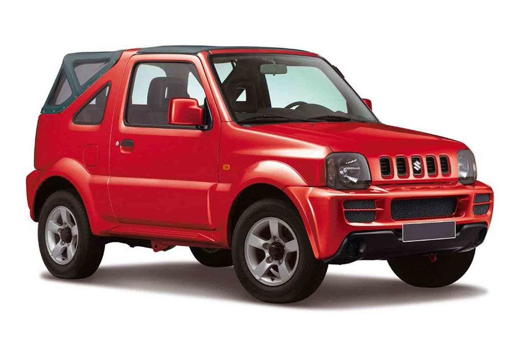 Rent a Suzuki Jimny in crete gouves intercar