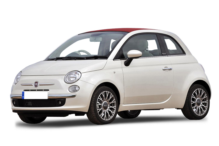 Rent a Fiat 500cc in crete gouves intercar