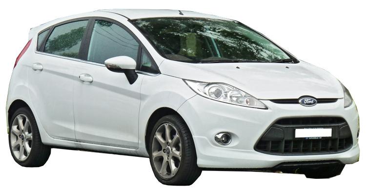 Rent a Ford Fiesta in crete gouves intercar