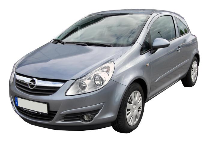 Rent a Opel Corsa in crete gouves intercar