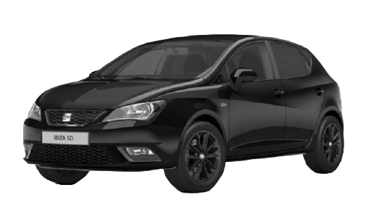 Rent a Seat Ibiza Tsi Automatic in crete gouves intercar