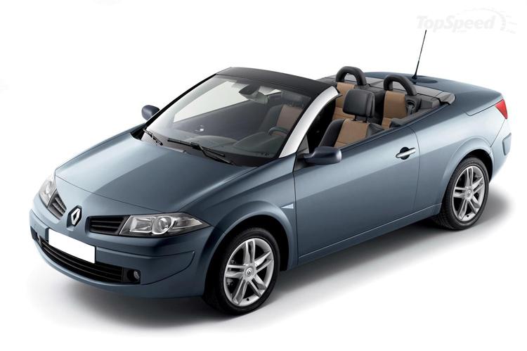Rent a Renault Megane Cabrio in crete gouves intercar