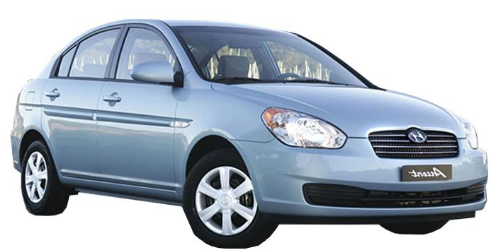 Rent a Hyundai Accent Automatic in crete gouves intercar