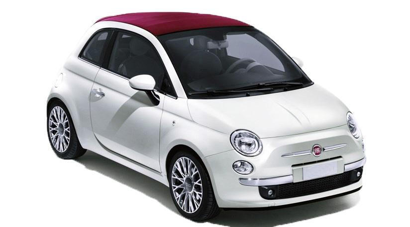 Rent a Fiat 500cc Automatic in crete gouves intercar
