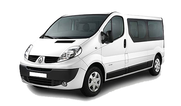 Rent a Renault Traffic in crete gouves intercar